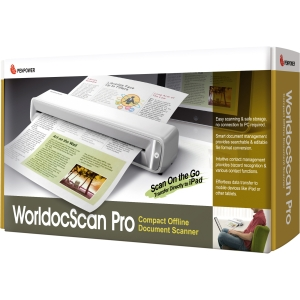 Penpower WorldocScan Sheetfed Scanner - 24-bit Color - USB