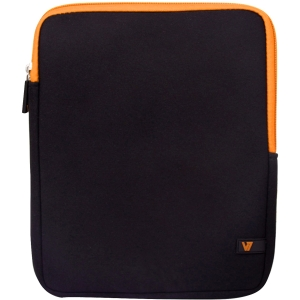 "V7 Ultra TD23BLK-OG-2N Carrying Case (Sleeve) for 10.1"" Tablet PC, iPad - Black - Neoprene"