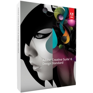 Adobe Creative Suite v.6.0 (CS6) Design Standard - Complete Product - 1 User - Graphics/Designing - Standard Retail - PC - Universal English