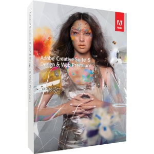 Adobe Creative Suite v.6.0 (CS6) Design & Web Premium - Complete Product - 1 User - Graphics/Designing - Standard Retail - PC - Universal English
