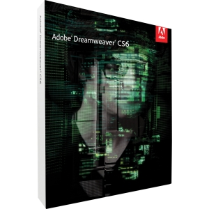 Adobe Dreamweaver CS6 v.12.0 - Complete Product - 1 User - Web Development - Standard Retail - DVD-ROM - Intel-based Mac - Universal English