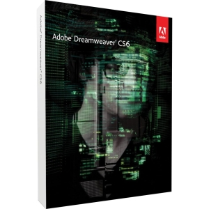 Adobe Dreamweaver CS6 v.12.0 - Complete Product - 1 User - Web Development - Standard Retail - DVD-ROM - PC - Universal English