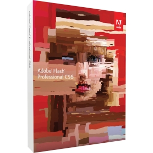 Adobe Flash CS6 v.12.0 Professional - Complete Product - 1 User - 3D Animation/Designing - Standard Retail - DVD-ROM - PC - Universal English