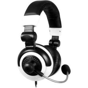 i.Sound Elite Gaming Headset - Stereo - Black, White - Mini-phone - Wired - Over-the-head - Binaural - Ear-cup - 13 ft Cable