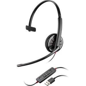 Plantronics Blackwire C310-M Headset - Mono - USB - Wired - 20 Hz - 20 Hz - Over-the-head - Monaural - Semi-open - Noise Cancelling Microphone