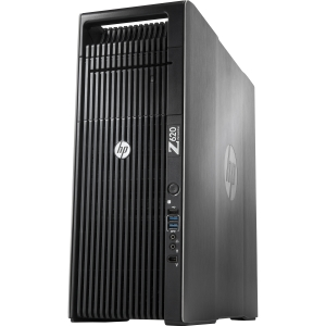 HP Z620 B2B78UT Convertible Mini-tower Workstation - 2 x Intel Xeon E5-2620 2GHz - 12 GB RAM - 500 GB HDD - DVD-Writer - Genuine Windows 7 Professional (English)