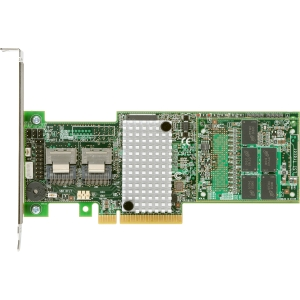 Intel 8-port SAS RAID Controller - Serial ATA/600, Serial Attached SCSI (SAS) - PCI Express x8 - Plug-in Card - RAID Supported - 0, 1, 5, 6, 10, 50, 60 RAID Level - 1 GB