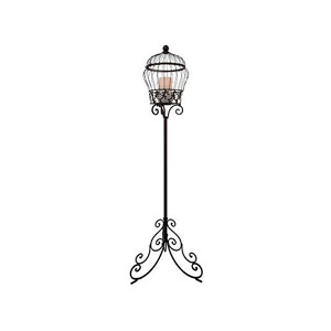 HomeReflections Indoor/Outdoor Iron Stand with Flameless Candle and Timer -  H167136
