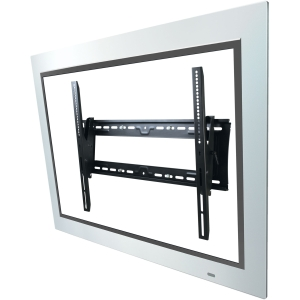 Atdec Telehook TH-3070-UT-TAA TV wall tilt mount universal VESA with security feature black - 42&quot; to 80&quot; Screen Support - 200.00 lb Load Capacity - Steel - Black