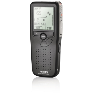 "Philips Pocket Memo LFH9375 Digital Voice Recorder - Secure Digital (SD) Card - 1.7"" LCD - Portable"
