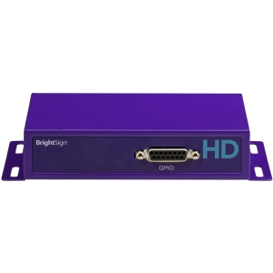 BrightSign HD120 Basic Interactive Model - Full HD Video, Multi-Zone, GPIO Interactive - 256 MB DRAM