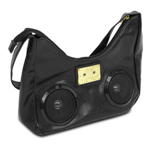 Fi-Hi Black Boho Stereo Bag
