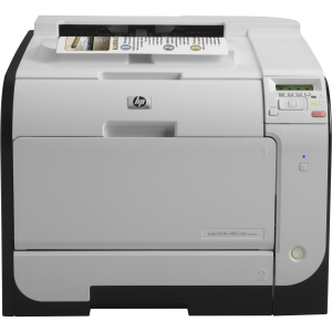 HP LaserJet Pro 400 M451DW Laser Printer - Color - 600 x 600 dpi Print - Plain Paper Print - Desktop - 20 ppm Mono / 20 ppm Color Print - 300 sheets Input - Automatic Duplex Print - LCD - Fast Ethernet - Wi-Fi - USB