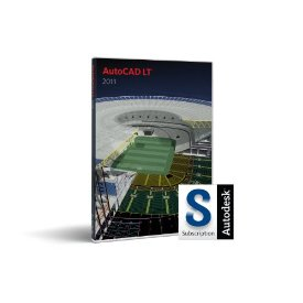 Autodesk AutoCAD LT 2013 with Subscription - New License - Seat - Commercial