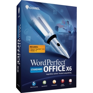 Corel WordPerfect Office X6 Standard Edition - Standard Retail Version for 1 User