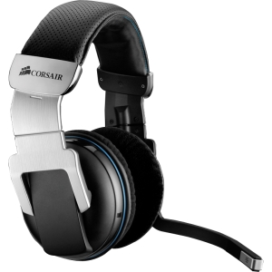 Corsair 2000 Wireless 7.1 Gaming Headset - Surround - Wireless - 40 ft - 32 Ohm - 20 Hz - 20 kHz - Over-the-head - Binaural - Ear-cup - Noise Cancelling, Condenser Microphone