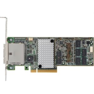 LSI Logic MegaRAID SAS 9285CV-8e - Serial Attached SCSI (SAS), Serial ATA/600 - PCI Express 2.0 x8 - Plug-in Card - RAID Supported - 0, 1, 5, 6, 10, 50, 60 RAID Level - 1 GB