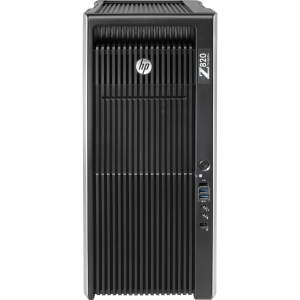 HP Z820 B2C08UT Convertible Mini-tower Workstation - 1 x Intel Xeon E5-2670 2.6GHz - 16 GB RAM - 1 TB HDD - DVD-Writer - Genuine Windows 7 Professional (English) - DisplayPort