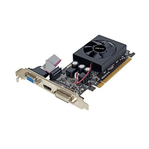 PNY GeForce GT 610 Graphic Card - 810 MHz Core - 1 GB DDR3 SDRAM - PCI Express 2.0 x16 - 1000 MHz Memory Clock - 2560 x 1600 - DirectX 11.0 - HDMI - DVI - VGA