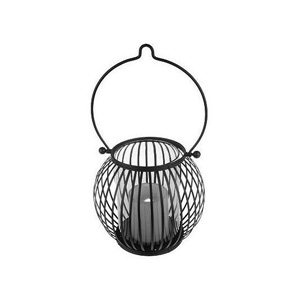 HomeReflections Indoor/Outdoor Lantern with Flameless Candle (Clear) - H191537