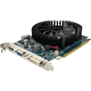 PNY GeForce GT 630 Graphic Card - 780 MHz Core - 2 GB DDR3 SDRAM - PCI Express 2.0 x16 - 1070 MHz Memory Clock - 2560 x 1600 - DirectX 11.0 - HDMI - DVI - VGA