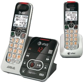 AT&T CRL32202 Cordless Phone - 1.90 GHz - DECT 6.0 - 1 x Phone Line - 1 x Handset - Answering Machine - Caller ID