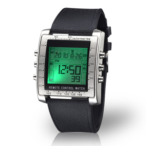 Control Freak Digital Remote Control Watch