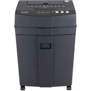 Aleratec RoboShredder Paper Shredder - Cross Cut, Strip Cut - 80 Per Pass - 6.20 gal Waste Capacity