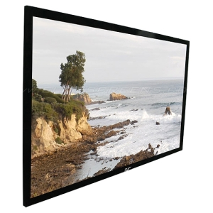 "Elite Screens SableFrame ER135WH1 Projection Screen - Fixed Frame - 66"" x 117"" - CineWhite - 135"" Diagonal - 16:9 - Wall Mount"