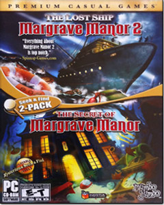 Secret of Margrave Manor & Manor 2: The Lost Ship (2 Pack)