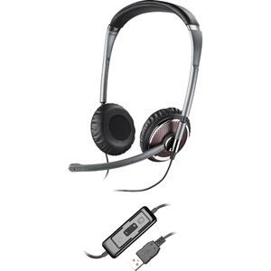 Plantronics Blackwire C420 Headset - Stereo - USB - Wired - Over-the-head - Binaural - Semi-open