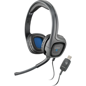 Plantronics .Audio 655 DSP - Stereo - USB - Wired - 20 Hz - 20 kHz - Over-the-head - Binaural - Ear-cup - 6.50 ft Cable - Noise Cancelling Microphone