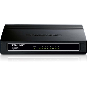 Tp-Link TL-SG1008D 8-port Unmanaged Gigabit Switch - 8 Ports - 8 x RJ-45 - 10/100/1000Base-T