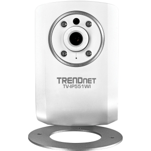 TRENDnet TV- IP551WI Surveillance/Network Camera - Color, Monochrome - Board Mount - CMOS - Wireless, Cable - Wi-Fi - Fast Ethernet