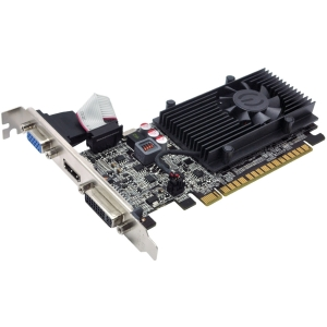 EVGA GeForce GT 610 Graphic Card - 810 MHz Core - 2 GB DDR3 SDRAM - PCI Express 2.0 x16 - 1000 MHz Memory Clock - 2560 x 1600 - DirectX 11.0, OpenGL 4.2 - HDMI - DVI - VGA