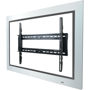 Atdec Telehook TH-3070-UF-TAA TV wall fixed mount universal VESA with security feature black - 42&quot; to 80&quot; Screen Support - 200.00 lb Load Capacity - Steel - Black