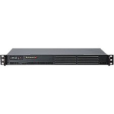 Supermicro SuperServer 5015A-EHF-D525 1U Rack Server - Intel Atom D525 1.80 GHz - 4 GB Maximum RAM - Serial ATA/300 RAID Supported Controller - Gigabit Ethernet - RAID Level: 0, 1, 1+0, 5