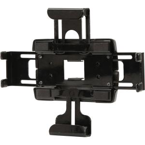 "Peerless-AV Wall Mount for Tablet PC - 7.7"" to 13.8"" Screen Support - 5.00 lb Load Capacity - Polyester - Black"