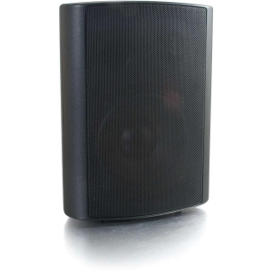 C2G 30 W RMS Speaker - 2-way - Black - 100 Hz to 20 kHz - 8 Ohm - Wall Mountable