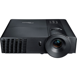 Optoma TW556-3D 3D Ready DLP Projector - 720p - HDTV - 16:10 - F/2.5 - 2.67 - SECAM, NTSC, PAL - 1280 x 800 - WXGA - 10,000:1 - 2800 lm - HDMI - USB - VGA In - 263 W - 3 Year Warranty