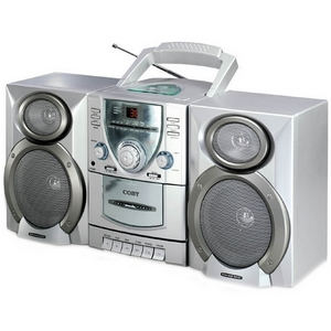 Coby CX-CD400 Mini Hi-Fi System - 2.4W - CD Player