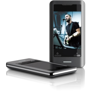 Coby MP827 8 GB Flash Portable Media Player - Audio Player, Photo Viewer, Video Player, FM Tuner - 2.8&quot; Color LCD - Touchscreen - miniSD Card - 15 Hour Audio - 8 Hour Video