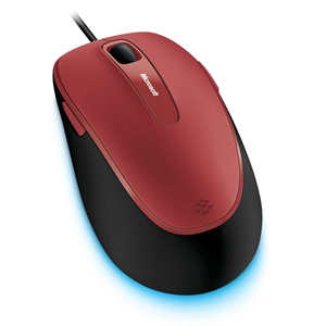 Microsoft Comfort Mouse 4500 - Poppy Red