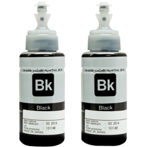 Aleratec RoboJet AutoPrinter Ink, Black, 2-Pack - Black - Inkjet - 2 Pack