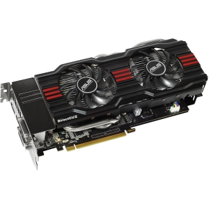 Asus GTX670-DC2-2GD5 GeForce GTX 670 Graphic Card - 915 MHz Core - 2 GB GDDR5 SDRAM - PCI Express 3.0 x16 - 6008 MHz Memory Clock - 2560 x 1600 - SLI - Fan Cooler - DirectX 11.0, OpenCL, OpenGL 4.2, DirectCompute 5.0 - HDMI - DisplayPort - DVI