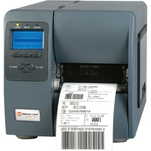Datamax M-Class M-4206 Direct Thermal/Thermal Transfer Printer - Monochrome - Label Print - 6 in/s Mono - 203 dpi - USB - LCD