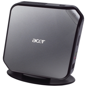 Acer Veriton Nettop Computer - Intel Atom D525 1.80 GHz - Mini PC - 2 GB RAM - 500 GB HDD - Wi-Fi - Genuine Windows 7 Professional