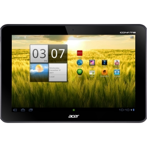 "Acer ICONIA Tab A200 32 GB Tablet - 10.1"" - NVIDIA Tegra 2 1 GHz - Titanium - 1 GB RAM - Android - Slate - Multi-touch Screen 1280 x 800 WXGA Display - Bluetooth"