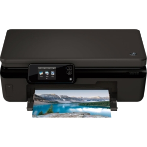 HP Photosmart 5520 Inkjet Multifunction Printer - Color - Plain Paper Print - Desktop - Printer, Copier, Scanner - 23 ppm Mono/22 ppm Color Print - 11 ppm Mono/8 ppm Color Print (ISO) - 4800 x 1200 dpi Print - 23 cpm Mono/22 cpm Color Copy - Touchscreen -