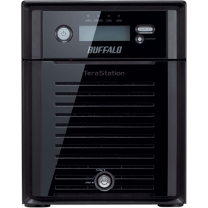 Buffalo TeraStation 5400 - Intel Atom D2550 1.80 GHz - 8 TB (4 x 2 TB) - RJ-45 Network, USB, USB